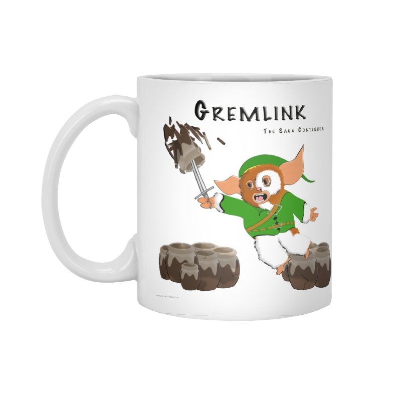 Gremlink: The Saga Continues Accessories Mug by Every Drop's An Idea's Artist Shop