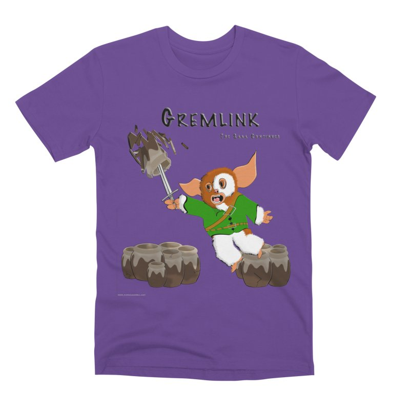 Gremlink: The Saga Continues Men's Premium T-Shirt by Every Drop's An Idea's Artist Shop