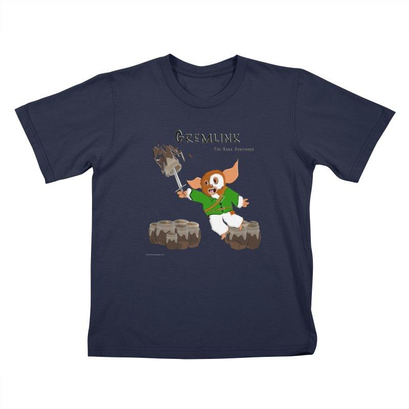 Gremlink: The Saga Continues Kids T-Shirt by Every Drop's An Idea's Artist Shop