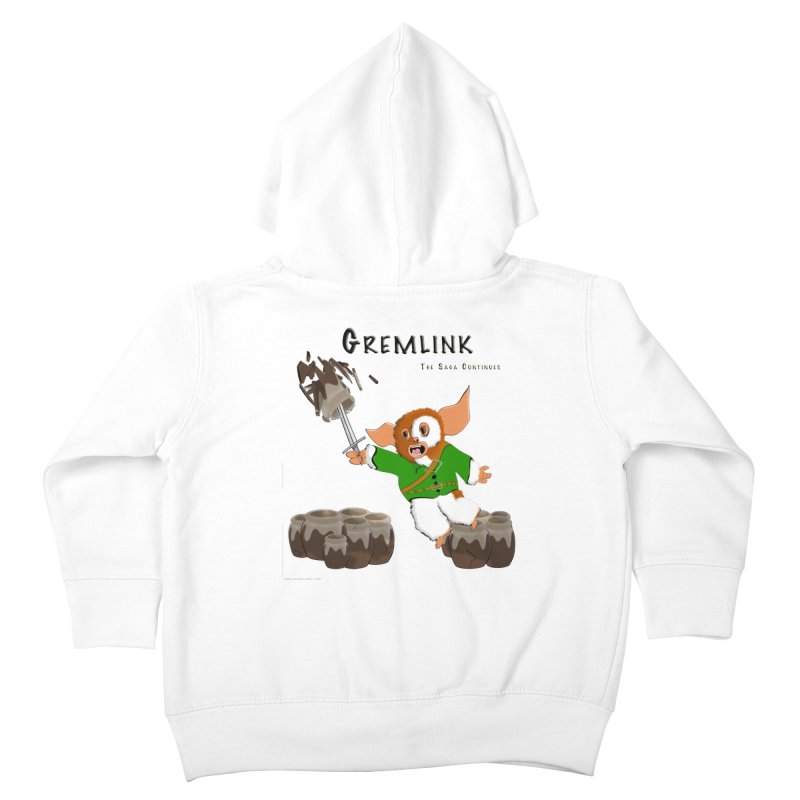 Gremlink: The Saga Continues Kids Toddler Zip-Up Hoody by Every Drop's An Idea's Artist Shop