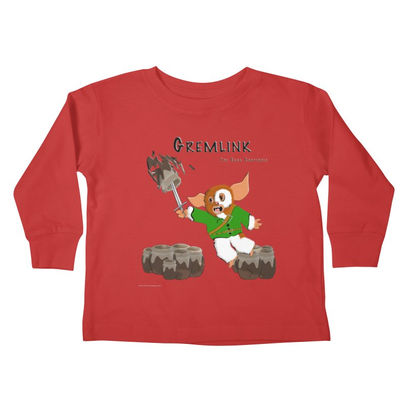 Gremlink: The Saga Continues Kids Toddler Longsleeve T-Shirt by Every Drop's An Idea's Artist Shop