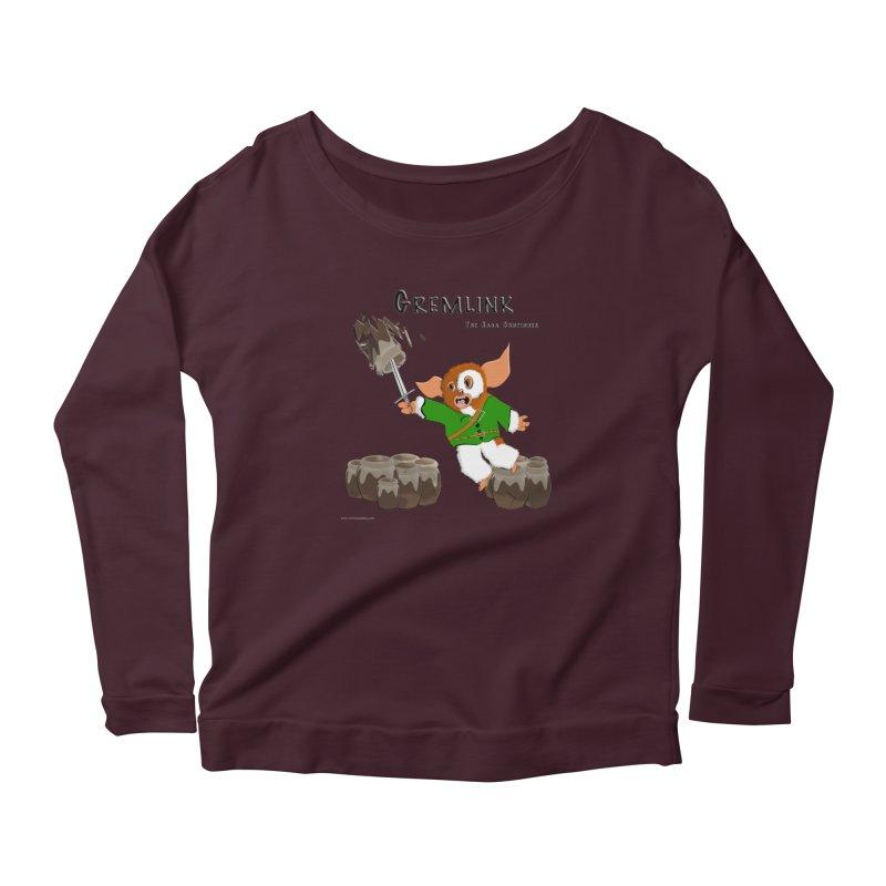 Gremlink: The Saga Continues Women's Longsleeve T-Shirt by Every Drop's An Idea's Artist Shop