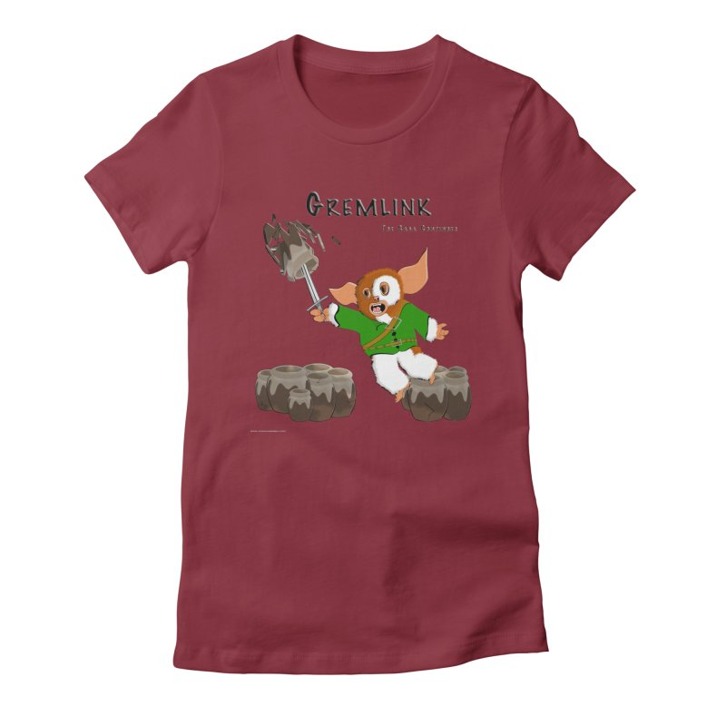 Gremlink: The Saga Continues Women's Fitted T-Shirt by Every Drop's An Idea's Artist Shop