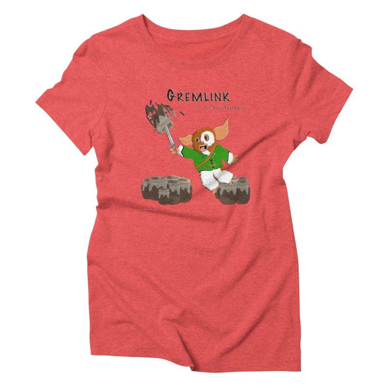 Gremlink: The Saga Continues Women's Triblend T-Shirt by Every Drop's An Idea's Artist Shop