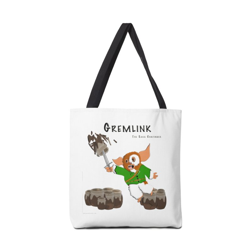 Gremlink: The Saga Continues Accessories Tote Bag Bag by Every Drop's An Idea's Artist Shop
