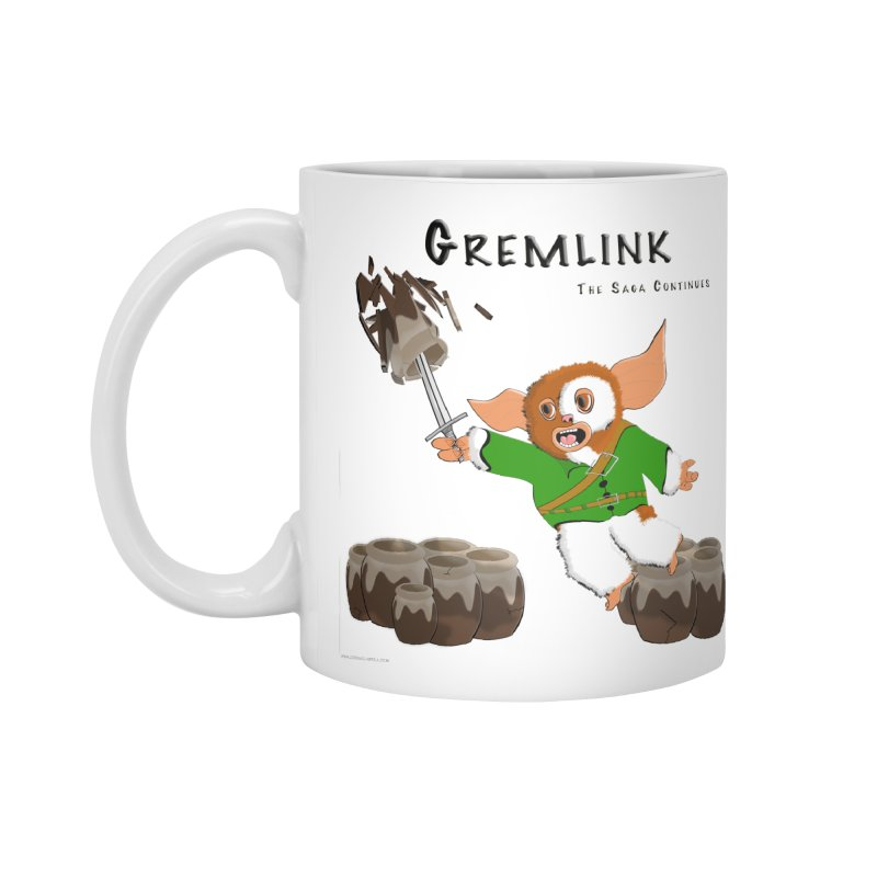 Gremlink: The Saga Continues Accessories Standard Mug by Every Drop's An Idea's Artist Shop