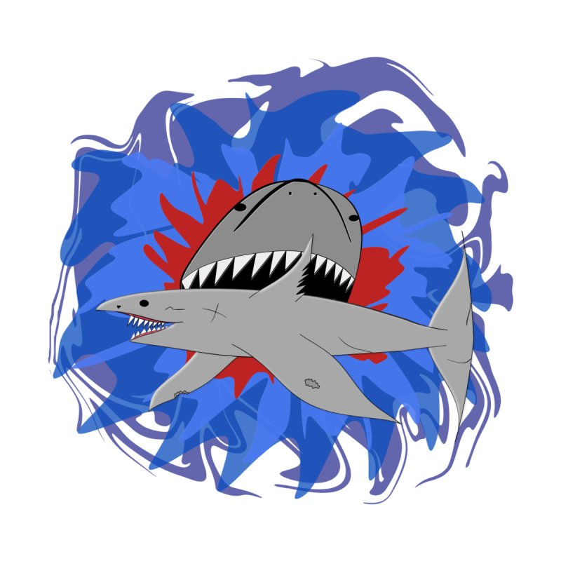 Shark Weak Accessories Sticker by Every Drop's An Idea's Artist Shop