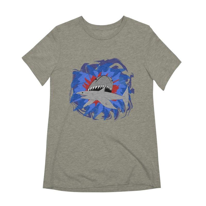Shark Weak Women's Extra Soft T-Shirt by Every Drop's An Idea's Artist Shop