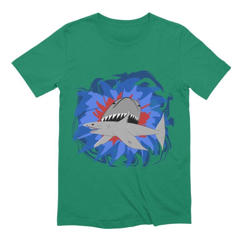 Shark Weak Men's Extra Soft T-Shirt by Every Drop's An Idea's Artist Shop