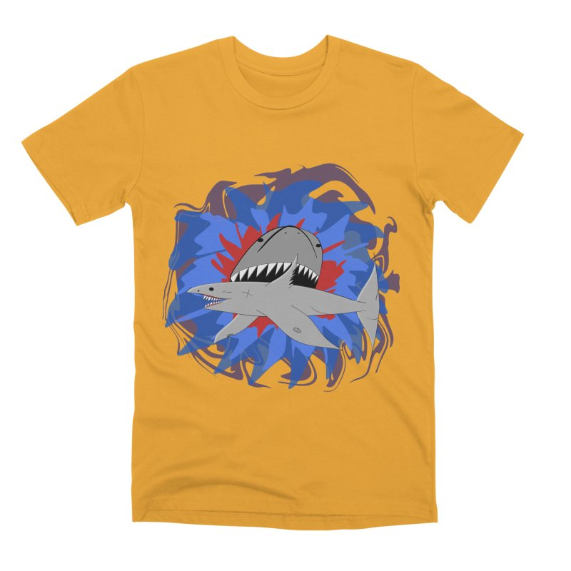 Shark Weak Men's Premium T-Shirt by Every Drop's An Idea's Artist Shop