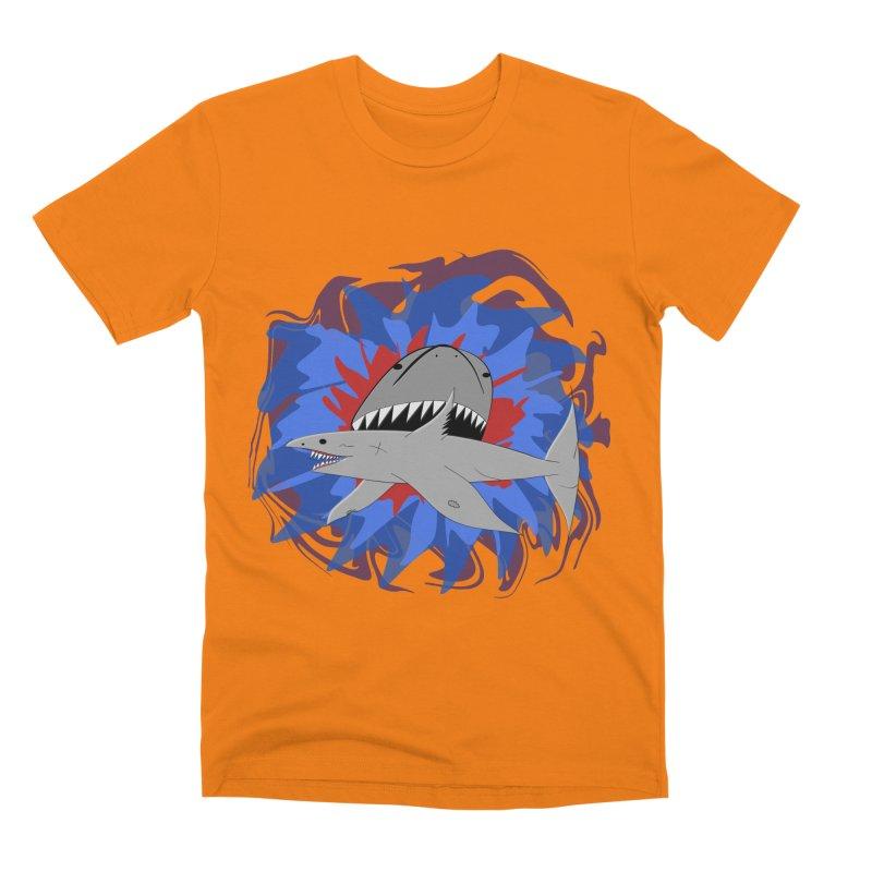 Shark Weak Men's Premium T-Shirt by Every Drop's An Idea's Artist Shop