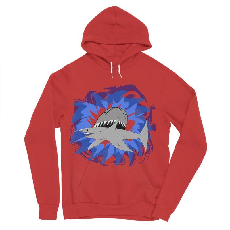Shark Weak Women's Sponge Fleece Pullover Hoody by Every Drop's An Idea's Artist Shop
