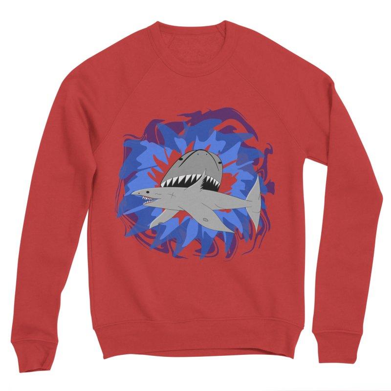 Shark Weak Men's Sponge Fleece Sweatshirt by Every Drop's An Idea's Artist Shop