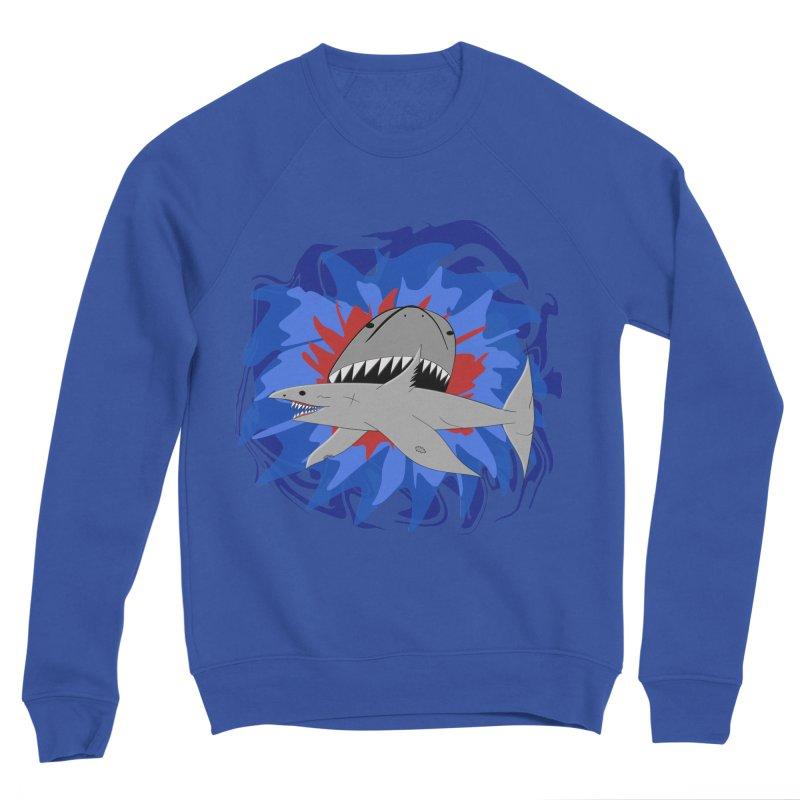 Shark Weak Men's Sweatshirt by Every Drop's An Idea's Artist Shop