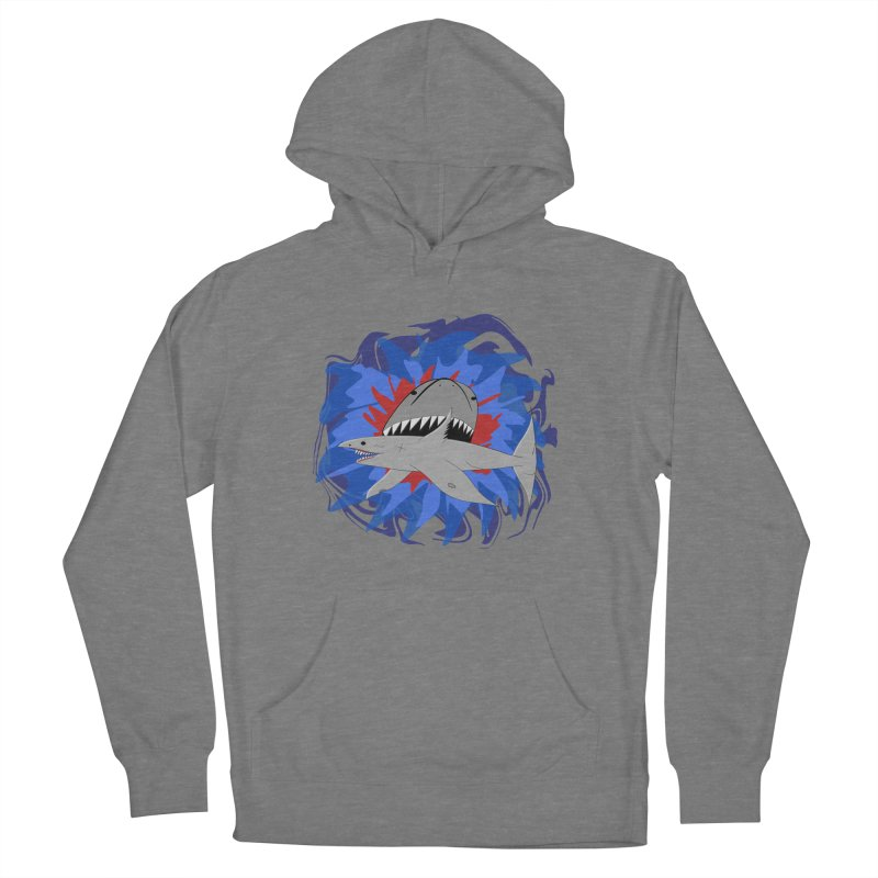 Shark Weak Women's Pullover Hoody by Every Drop's An Idea's Artist Shop