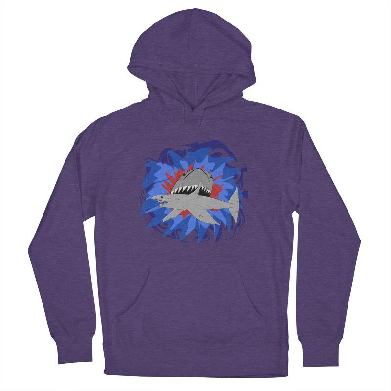 Shark Weak Men's Pullover Hoody by Every Drop's An Idea's Artist Shop