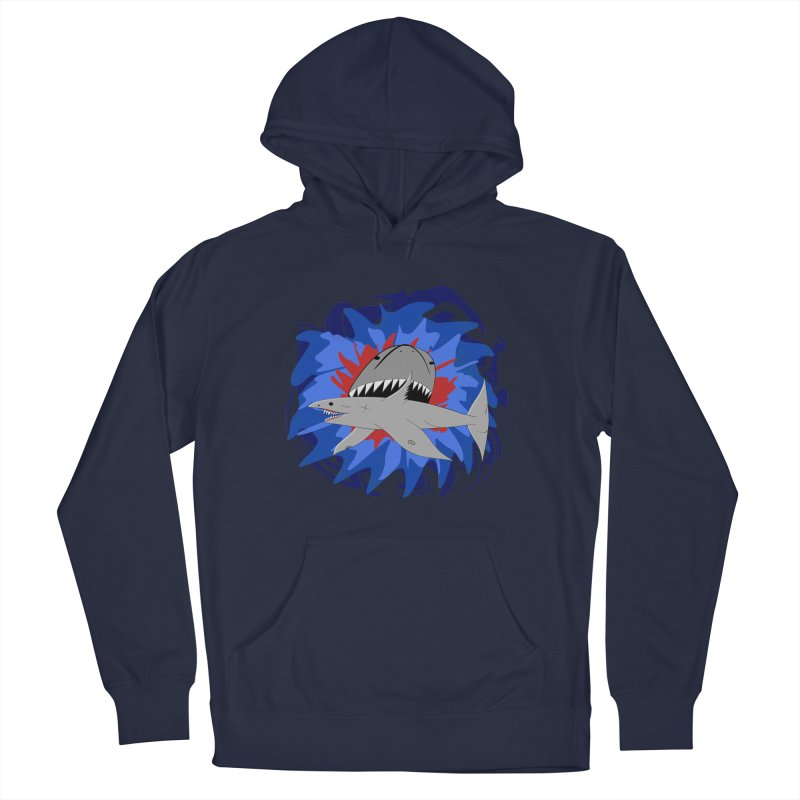 Shark Weak Men's Pullover Hoody by Every Drop's An Idea's Artist Shop