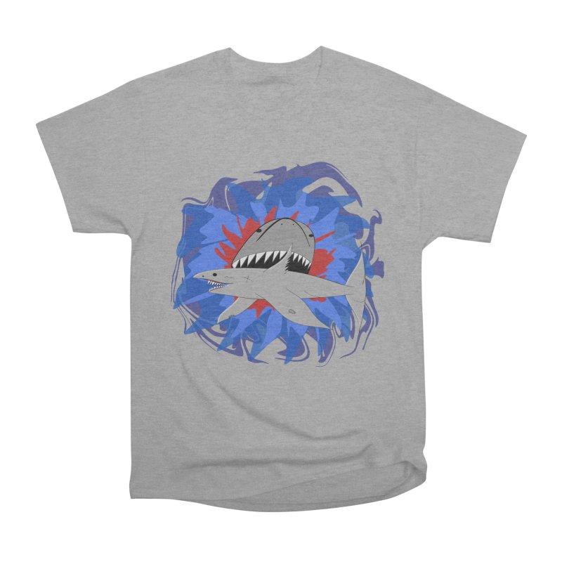 Shark Weak Women's Heavyweight Unisex T-Shirt by Every Drop's An Idea's Artist Shop