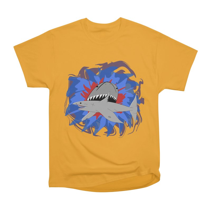 Shark Weak Women's Heavyweight Unisex T-Shirt by Every Drop's An Idea's Artist Shop