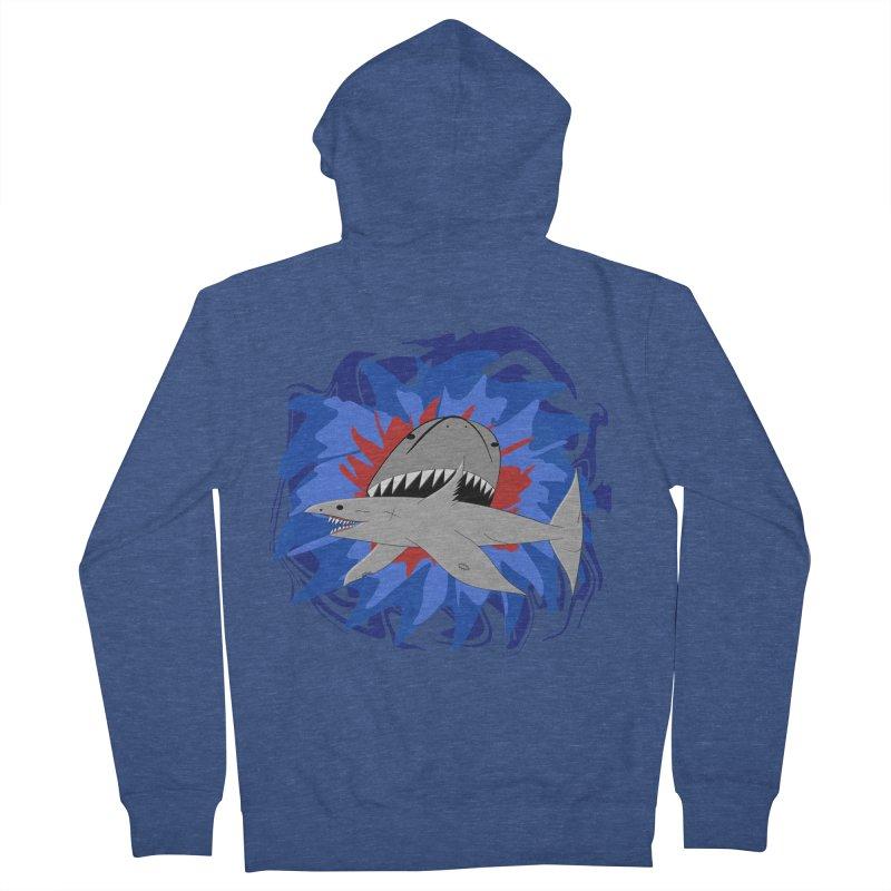 Shark Weak Women's French Terry Zip-Up Hoody by Every Drop's An Idea's Artist Shop