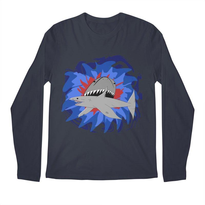 Shark Weak Men's Regular Longsleeve T-Shirt by Every Drop's An Idea's Artist Shop
