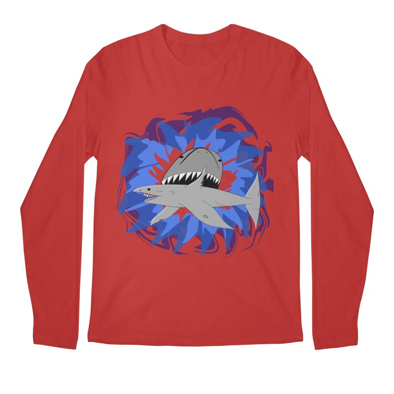 Shark Weak Men's Regular Longsleeve T-Shirt by Every Drop's An Idea's Artist Shop