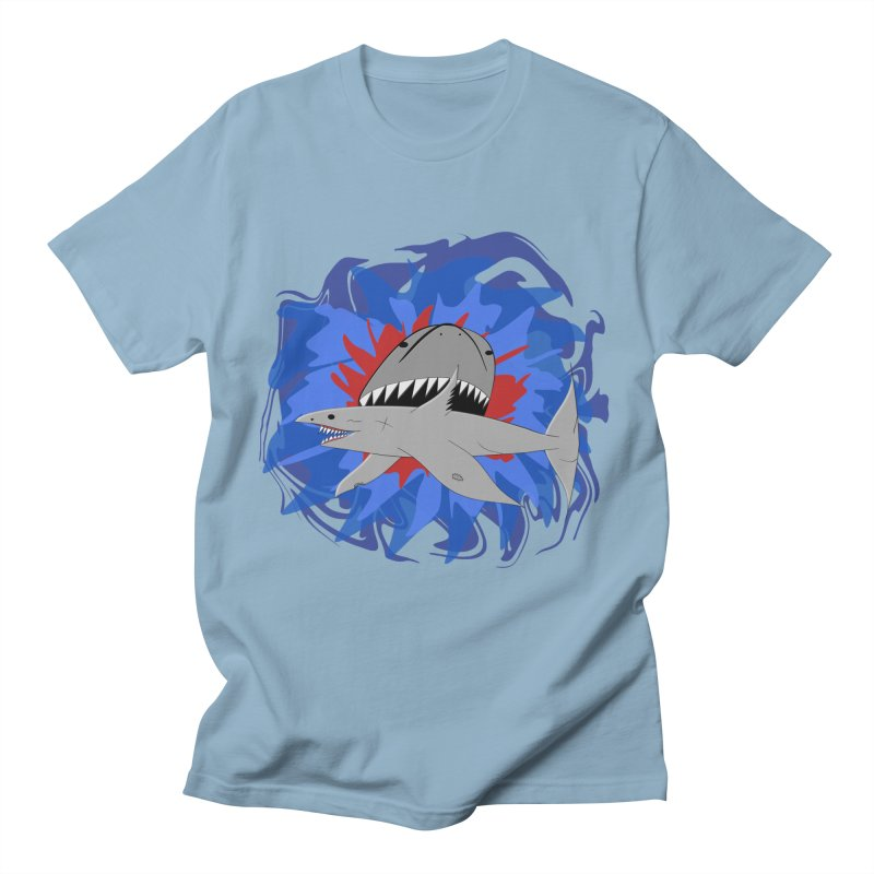 Shark Weak Men's Regular T-Shirt by Every Drop's An Idea's Artist Shop