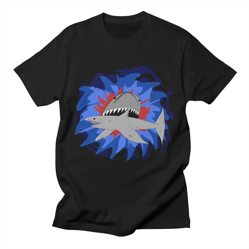 Shark Weak Men's T-Shirt by Every Drop's An Idea's Artist Shop