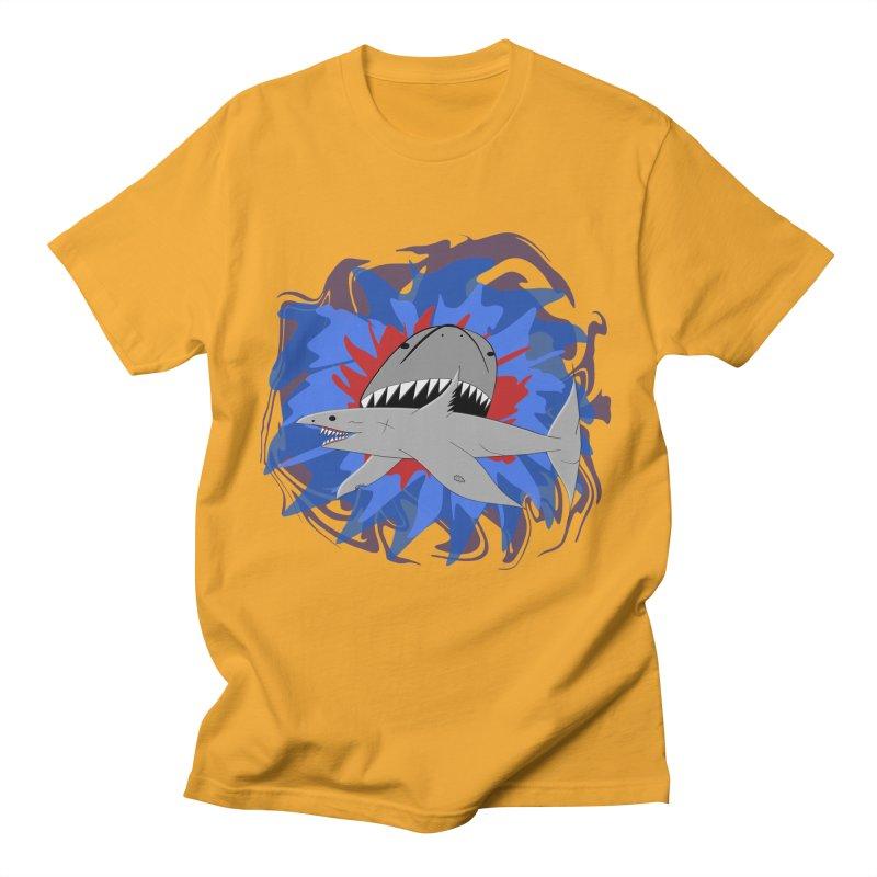 Shark Weak Men's Regular T-Shirt by Every Drop's An Idea's Artist Shop