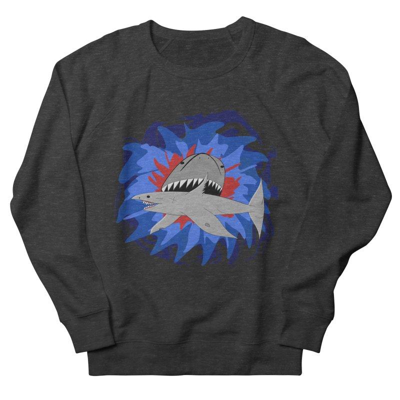 Shark Weak Men's French Terry Sweatshirt by Every Drop's An Idea's Artist Shop