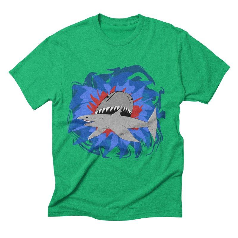 Shark Weak Men's Triblend T-Shirt by Every Drop's An Idea's Artist Shop