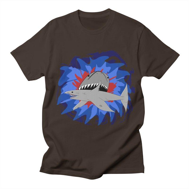 Shark Weak Men's T-Shirt by Every Drop's An Idea's Artist Shop