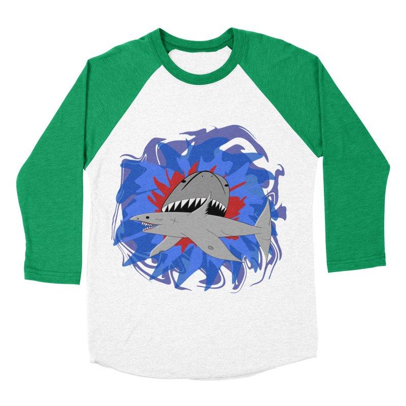 Shark Weak Women's Baseball Triblend Longsleeve T-Shirt by Every Drop's An Idea's Artist Shop