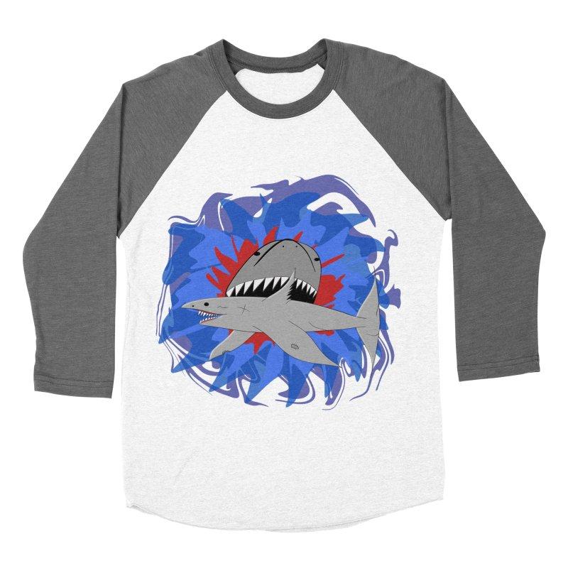 Shark Weak Men's Baseball Triblend Longsleeve T-Shirt by Every Drop's An Idea's Artist Shop