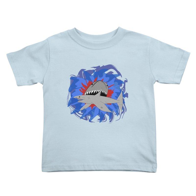 Shark Weak Kids Toddler T-Shirt by Every Drop's An Idea's Artist Shop