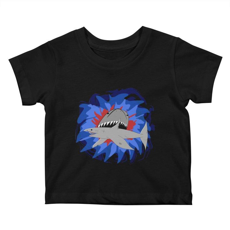 Shark Weak Kids Baby T-Shirt by Every Drop's An Idea's Artist Shop
