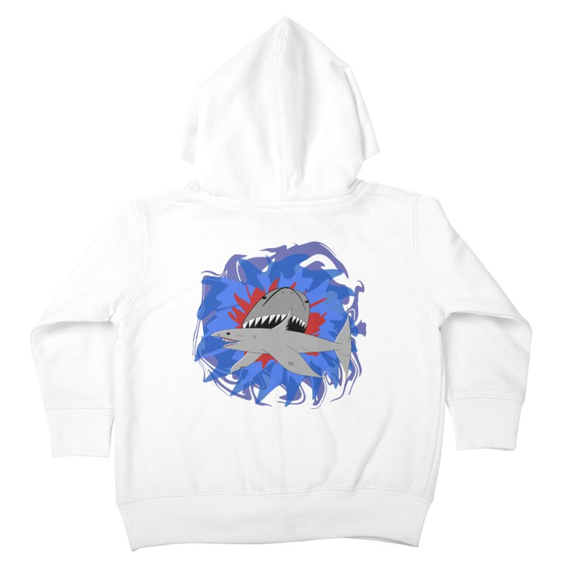Shark Weak Kids Toddler Zip-Up Hoody by Every Drop's An Idea's Artist Shop