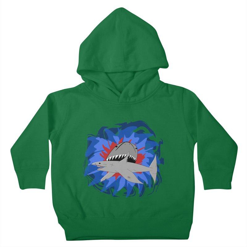 Shark Weak Kids Toddler Pullover Hoody by Every Drop's An Idea's Artist Shop