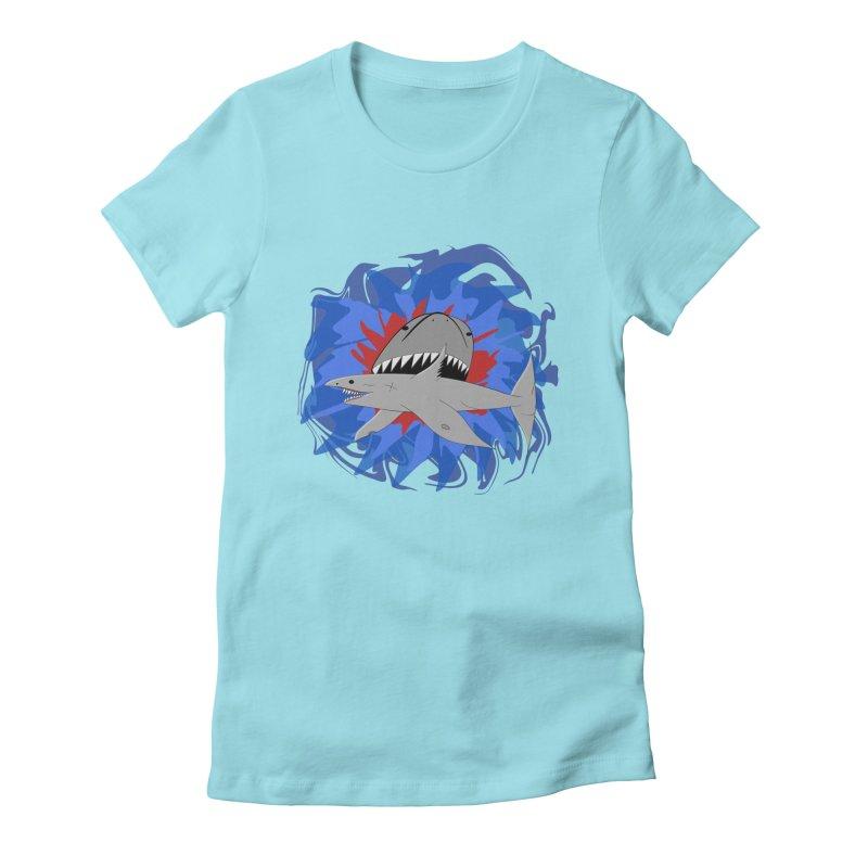 Shark Weak Women's T-Shirt by Every Drop's An Idea's Artist Shop