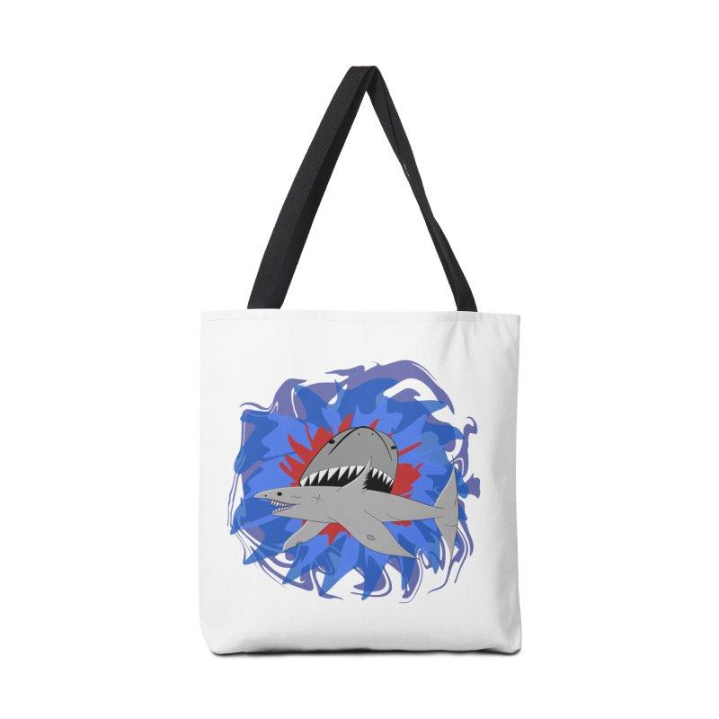 Shark Weak Accessories Bag by Every Drop's An Idea's Artist Shop