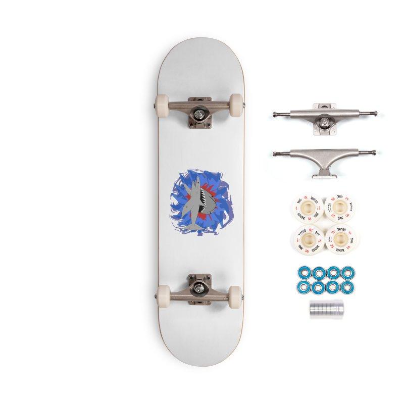 Shark Weak Accessories Complete - Premium Skateboard by Every Drop's An Idea's Artist Shop