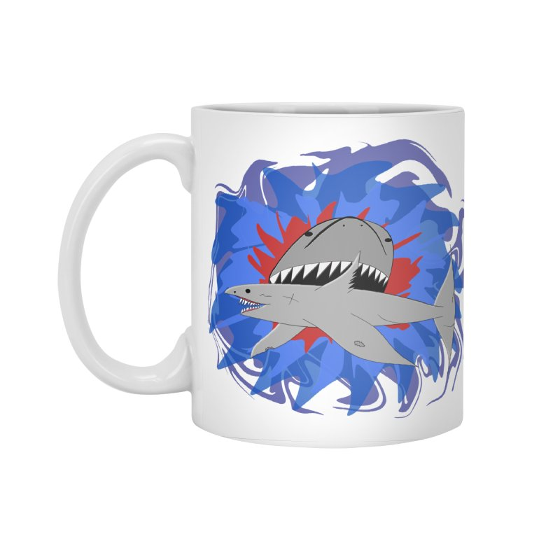 Shark Weak Accessories Mug by Every Drop's An Idea's Artist Shop