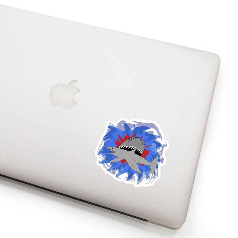 Shark Weak Accessories Sticker by Every Drop's An Idea's Artist Shop