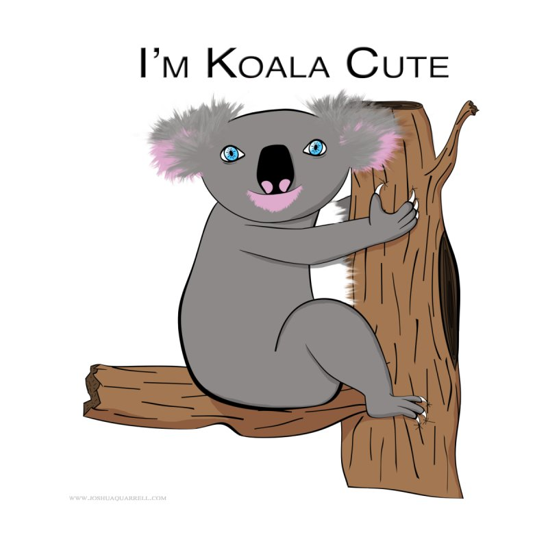 I'm Koala Cute Men's Zip-Up Hoody by Every Drop's An Idea's Artist Shop