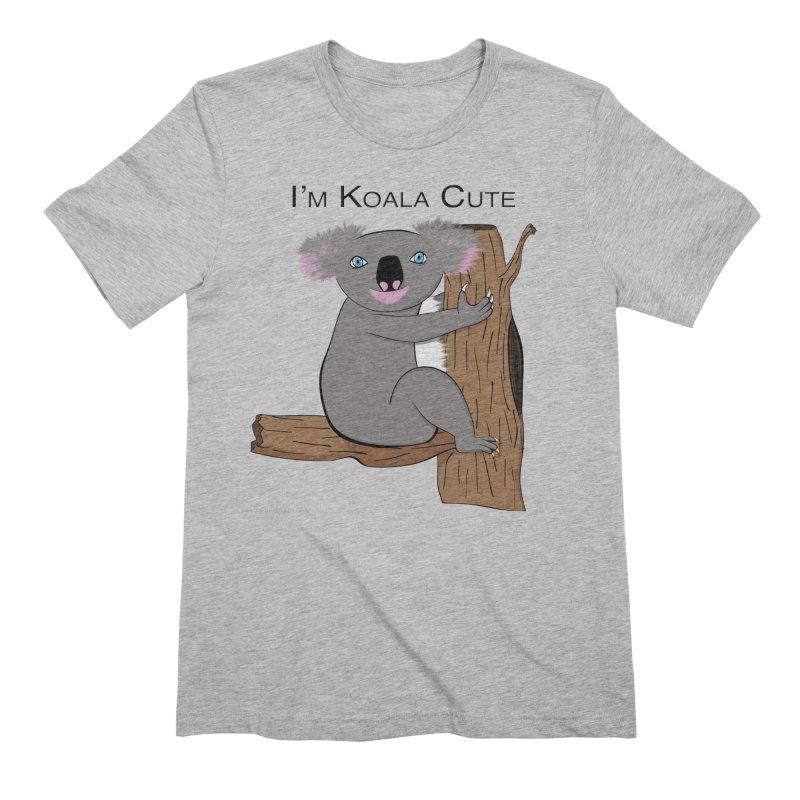 I'm Koala Cute Men's Extra Soft T-Shirt by Every Drop's An Idea's Artist Shop