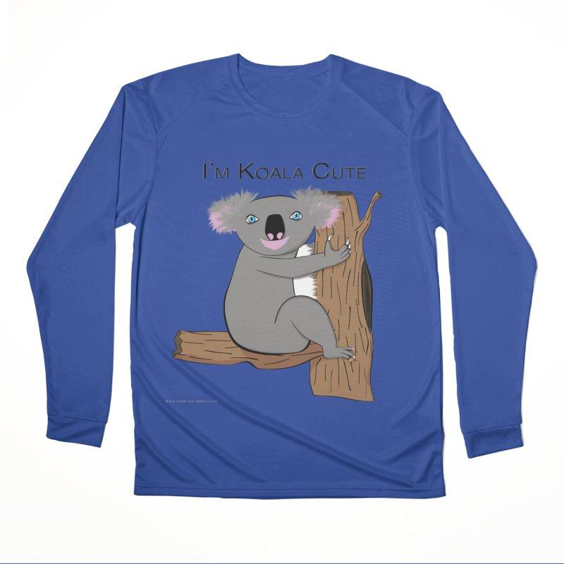 I'm Koala Cute Women's Performance Unisex Longsleeve T-Shirt by Every Drop's An Idea's Artist Shop