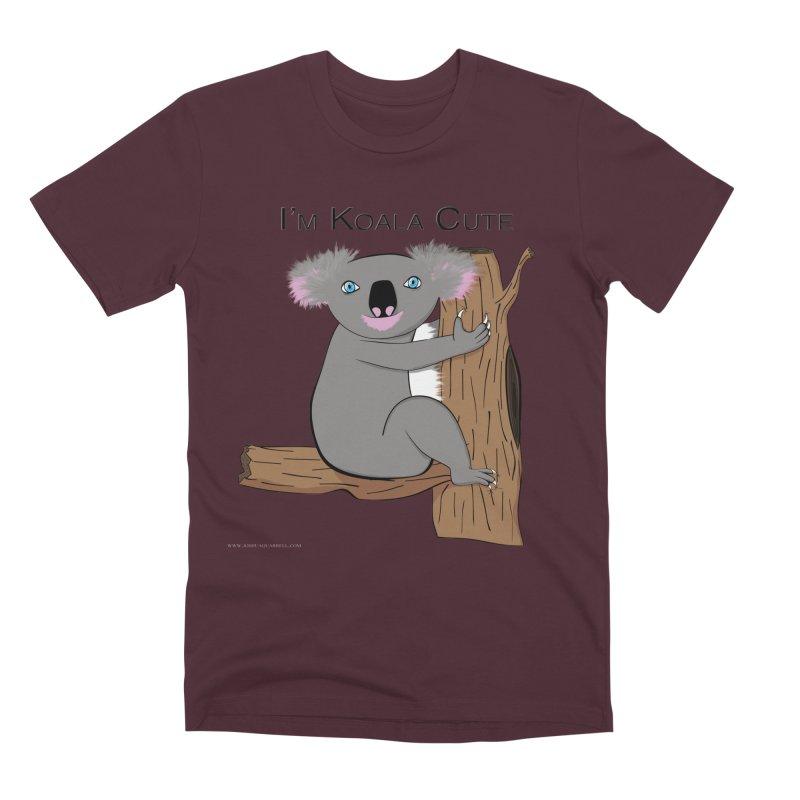 I'm Koala Cute Men's Premium T-Shirt by Every Drop's An Idea's Artist Shop