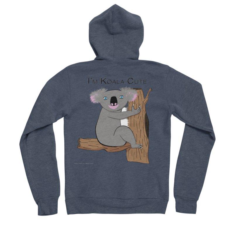 I'm Koala Cute Men's Sponge Fleece Zip-Up Hoody by Every Drop's An Idea's Artist Shop