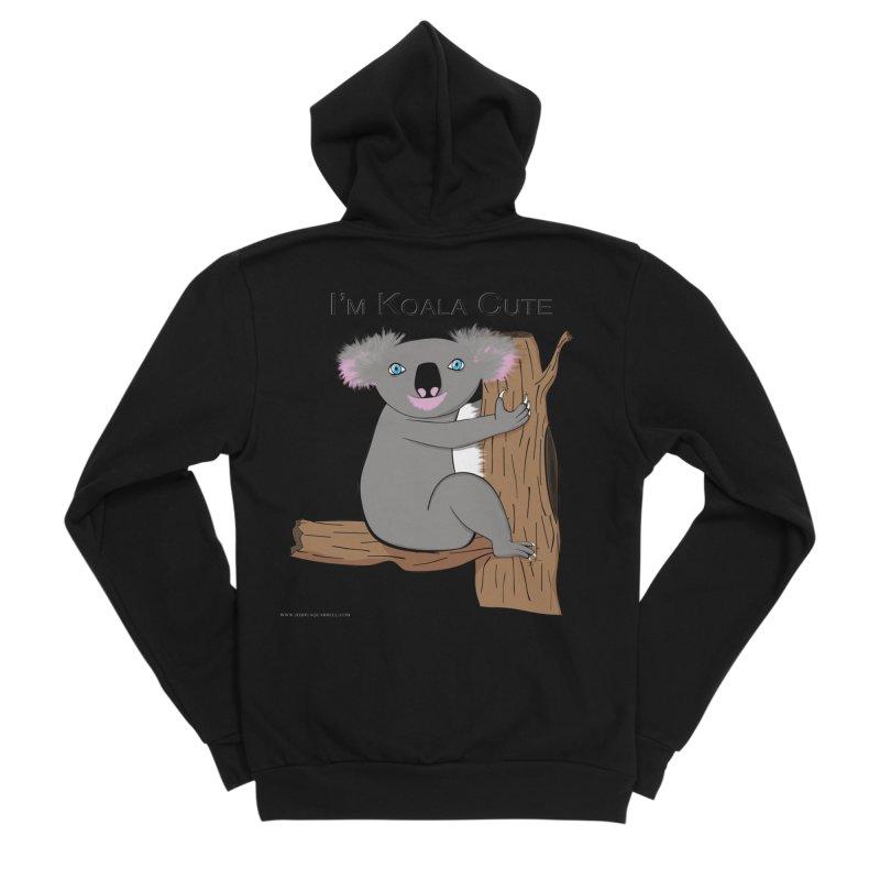 I'm Koala Cute Women's Sponge Fleece Zip-Up Hoody by Every Drop's An Idea's Artist Shop