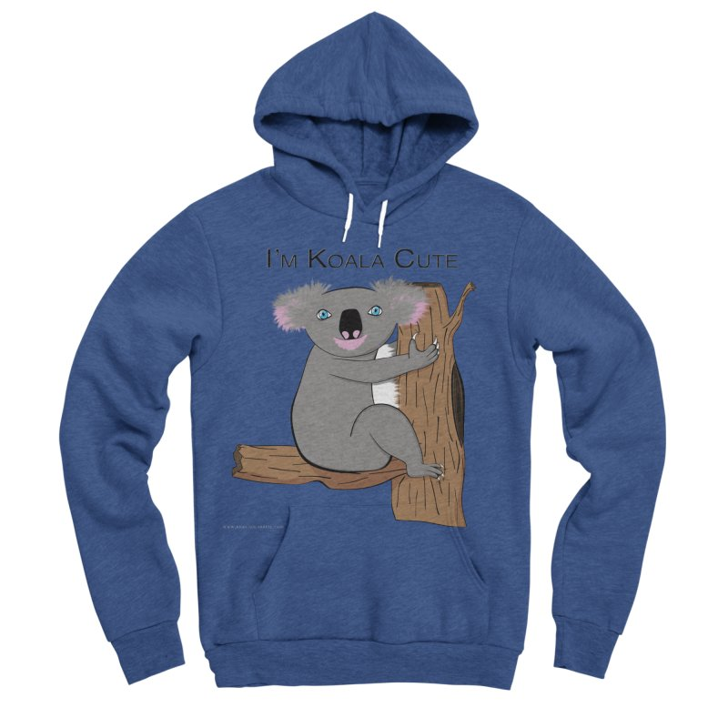 I'm Koala Cute Men's Sponge Fleece Pullover Hoody by Every Drop's An Idea's Artist Shop